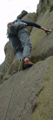 multi-pitch-climbing in wales
